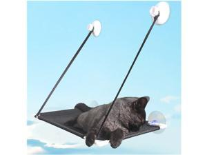 Window Cat Perch Window Hammock for Large Cat Double Resting Cat Window Seat Pet Durable Bed Safety Space Saving Holds for Any Indoor Cat