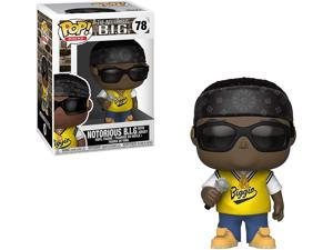 Funko Pop! The Notorious B.I.G. With Jersey #78 Figure