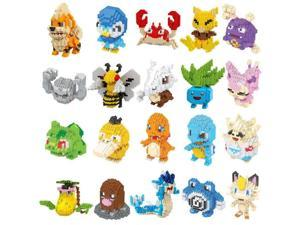 Mystery box Pokemon character toy brick #13