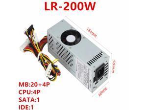 PSU For Realan Emini T02B T01B 2007B Rated 180W Peak 250W Power Supply LR-200W