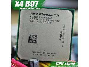 AMD Phenom II  X4 B97 CPU Processor Quad-Core (3.2Ghz/ 6M /95W / 2000GHz) Socket am3 am2+  938 pin sell  X4 955