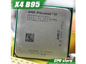 AMD Phenom II  X4 B95 CPU Processor Triple-Core (3.0Ghz/ 6M /95W / 2000GHz) Socket am3 am2+  938 pin sell  X4 945