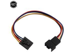 18CM Dedicated Fan Adapter 5 Pin 4 Wire Interface Computer PWM CPU Case Cooling Fan Connector Cable Extension Cable For DELL