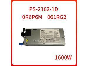 Power 1600W PS-2162-1D R6P6M 61RG2 0R6P6M 061RG2 For DELL switching power supply module