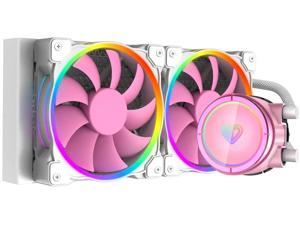 ID-cooling PINKFLOW 240 Pink Symphony ARGB light effect integrated water-cooled CPU cooler