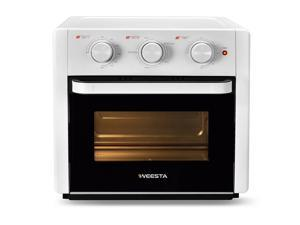 WEESTA 19QT Air Fryer Toaster Oven,5-IN-1 Countertop Convection Oven with Air Fry Air Roast Toast Broil Bake Function for Fried Chicken, Steak, Fries, Tater Tots, Chips, Shrimps, Bacon, Pizza, etc