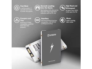 "TC-SUNBOW X3 2TB SATA III 2.5"" Internal Solid State Disk"