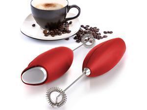 Latte's Milk Frother Handheld Foam Machine-Egg Beater Blender for Bulletproof Coffee, Cappuccino, Mini Milk Tea, Matcha, Milk Chocolate Mini Bubbler