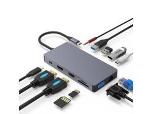USB C HUB HDMI Type-C HUB To Hdmi USB 3.0 Thunderbolt 3 Card Reader For Macbook 2018 mate20 P30 glaxy S9 S10 USB C HUB