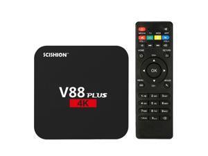 V88 Smart Android 7.1 TV Box RK3229 Quad Core KODI 16.1 1G / 8G WiFi HD Media Player