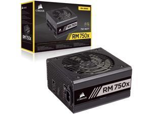 CORSAIR RM Series, RM750x, 750 Watts, 80+ Gold Certified, Fully Modular Power Supply