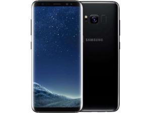 "Samsung Galaxy S8 SM-G950U (64GB / 4GB) GSM Unlocked Phone - 5.8"" HD - 4G LTE - 12MP - Grade C (7/10) - BLACK COLOR - 2 DAYS DELIVERY"