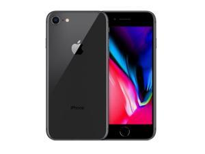 Apple Iphone 8 64GB / 2GB - GSM Unlocked Phone For AT&T, T-Mobile - 12MP - GRAY COLOR - Grade C (7/10) Quality - 2 days of Delivery