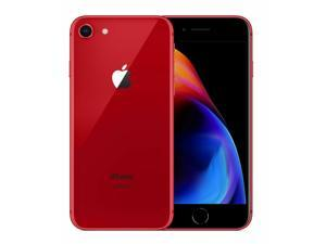 Apple Iphone 8 64GB / 2GB - GSM Unlocked Phone For AT&T, T-Mobile - 12MP - RED COLOR - Grade B (7/10) Quality - 2 days of Delivery