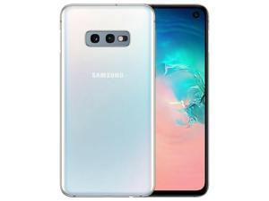 """Samsung Galaxy S10e SM-G970U (128GB / 6GB) 4G LTE Unlocked Cell Phone - 5.8"""" HD Infinity Display - Grade A (9/10) Quality - Prism White - 2 DAYS DELIVERY"""