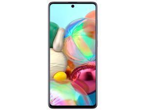 Samsung Galaxy A71 A715F 128GB + 8GB Dual-SIM GSM Unlocked Phone (International Variant/US Compatible LTE)