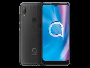 Alcatel 1V 2020 5007G (32GB ROM + 2GB RAM) Factory GSM Unlocked Phone - Prime Black