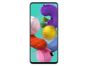 Samsung Galaxy A51 A515F 128GB/6GB - DUOS GSM Unlocked Phone w/ Quad Camera 48 MP + 12 MP + 5 MP + 5 MP (International Variant/US Compatible LTE) - Blue