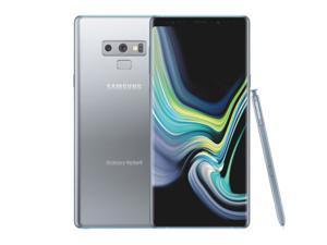 "Samsung Galaxy Note 9 SM-N960U (128GB / 6GB) Network Unlocked - 6.4"" HD - 12MP Grade A (9/10) - SILVER COLOR - 2 DAYS DELIVERY"