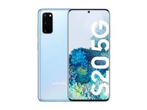 "Samsung Galaxy S20 5G SM-G981U (128GB - 8GB) FULLY UNLOCKED (CDMA / GSM) - All Carriers Verizon, AT&T, T-Mobile, Sprint - 6.2"" - 64MP - Grade A (9/10) Quality - Blue"