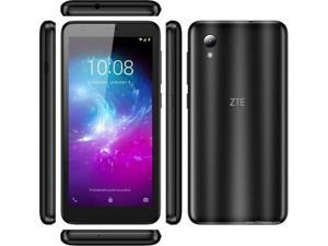"ZTE Blade A3 2019 5.45"", 16GB / 1GB RAM Quad-Core Android 9.0 Go 4G LTE GSM USA Latin Caribbean Unlocked Smartphone (GSM Version, Not CDMA) International Version (Grey)"
