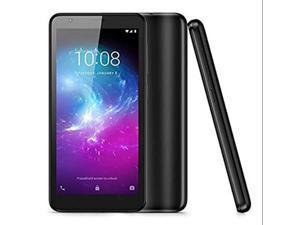 "ZTE Blade L8 (16GB / 1GB) 5.0"" HD, 8MP Dual Camera - Factory GSM Unlocked Phone - Black"