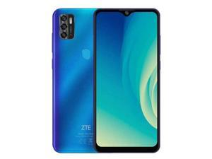 """ZTE Blade A7S 2020 (64GB + 3GB) GSM Unlocked Phone For AT&T, T-Mobile - 16MP HD - 6.5"""" - Dual SIM - 4000mAh - Color: Blue - 2 days of Delivery"""