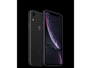 "Apple iPhone XR 4G LTE Unlocked GSM Phone w/ 12 MP Camera 6.1"" Black 128GB 3GB RAM"