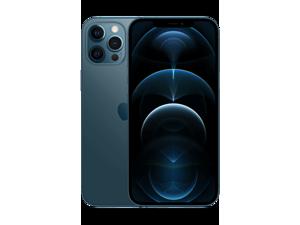 Apple IPhone 12 Pro Max 5G A2411 Dual-SIM 256GB (GSM |CDMA) Factory Unlocked Smartphone (Pacific Blue) - International Version