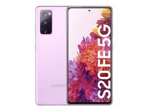 Samsung Galaxy S20 FE 5G | Factory Unlocked Android Cell Phone | 256 GB | International Version | Pro-Grade Camera, 30X Space Zoom, Night Mode | Cloud Lavender