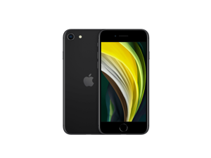 """Apple iPhone SE 2020 (2nd Generation) 64GB + 3GB - FULLY UNLOCKED (CDMA / GSM) - All Carriers Verizon, AT&T, T-Mobile, Sprint -  4.7"""" HD - BLACK - 2 days of Delivery - Grade A++"""