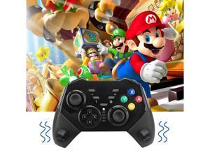 Wireless Switch Pro Controller for Nintendo Switch Console - Black Remote Gamepad Joystick with Gyro and Gravity Sensor, Dual Vibration, Turbo and Capture Function (2020 Upgraded Version)