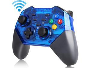Nintendo Switch Pro Controller, Programmable Key, Anti-slip Frosted Shell,  One-key Connection to Host, Bluetooth Wireless Gamepad Joystick for NS Switch Console