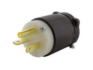 20 Amp 125-Volt NEMA 5-20P 3-Prong Industrial Heavy Duty Grade Male Plug
