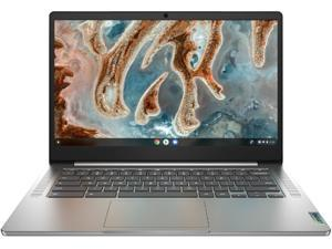 "Lenovo Chromebook 3 14"" Laptop - Mediatek MT8183 - 4GB Memory - 64GB eMMC - Arctic Grey 82KN0000US"