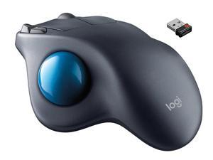 New :  Wireless Trackball M570, Precise Cursor Control wireless Ergonomic Mouse, hand-friendly wireless trackball Mouse, Work and play anywhere , Powerful 30 ft. for Windows PC and Mac