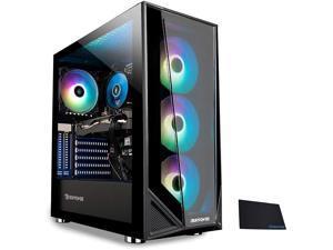 2021_ Gaming PC Computer Desktop (AMD Ryzen 5 3600 3.6GHz, AMD Radeon RX 5500 XT 4GB, 8GB DDR4 RAM, 240GB SSD, WiFi Ready, Windows 10 Home) w/Tekstar Mouse Pad