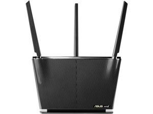 WiFi 6 Router (RT-AX68U) - Dual Band Gigabit Wireless Router, 3x3 Support, Gaming & Streaming, AiMesh Compatible, Included Lifetime Internet Security, Parental Control, MU-MIMO, OFDMA