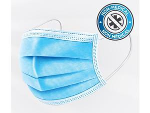 Disposable Protective Masks 3-PLY 50 Pack Non-Woven