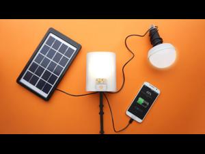 Nowlight - Portable Solar & Battery Powered LED Light