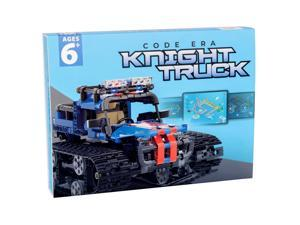 Knight Truck STEM Toy Building Blocks Bricks Construction Fun Kit More than 528pcs for 6 years plus US in Stock Fast Shipping