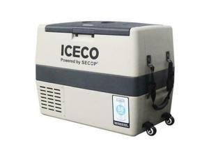 ICECO Portable Refrigerator Freezer Car Fridge Cooler AC DC With Wheels German Secop Compress TR60 60L US in stock Fast Shipping