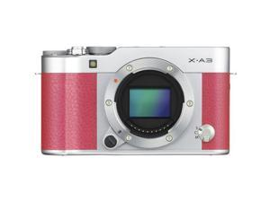 Fujifilm X-A3 Mirrorless Digital Camera Body Only (Pink) (Kit Box)