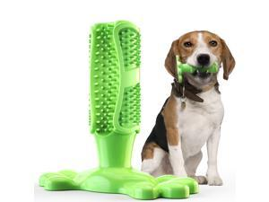 Dog Toothbrush Chew Toy Dog Toothbrush Stick for Dental Oral Care, Dog Chew Toothbrush, Dog Chew Toys for Midium & Large Dogs ,TPR Non Toxic Material L-type