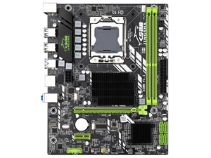 JINSHA X58 3.0 USB 3.0 Motherboard X58 MOBO Pro Gigabit Ethernet LGA1366 Dual Channel 32GB Desktop Gaming Motherboard(Supports ECC Memory Supporting AMD RX Series Graphics Cards)