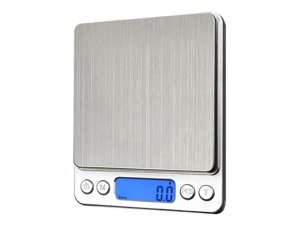 Digital Kitchen Scale Stainless Steel Precise Electronic 3000gx0.1g Batteries Sold Separately Baking Scale/Jewelery Scale/Coffee/Craft Scale