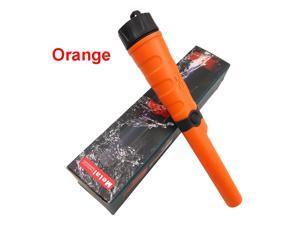 IP68 Waterproof Metal Detector Gold Detector Pinpointers 360° Detector Finder (Orange)