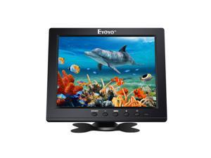 Eyoyo 8 Inch HD Monitor 1024x768 Resolution Display Portable 4:3 TFT LCD Mini HD Color Video Screen