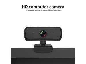 2020 NEW Webcam 1440P HD Web Camera with Built-in HD Microphone 2560 x 1440p USB Plug Play Web Cam 2.0M pixels Widescreen Video