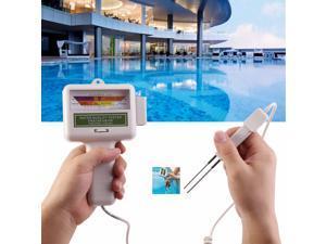 PH Meter Portable Measure Water Quality PH CL2 Chlorine Tester Level Meter PH Tester for Swimming Pool Spa Aquarium